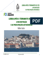 Lisboa Após o Terramoto de 1755 - Válter Lúcio Junho2015
