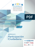 Modulo 1 Participación Ciudadana