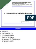 7 Controlador L Gico Program Vel CLP