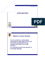 Lecturer 8 - CIV2701 - Cross Sections