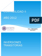 INVERSIONES TRANSITORIAS
