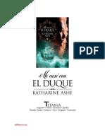 Katharine Ashe - Se busca príncipe 01 Me casé con el duque