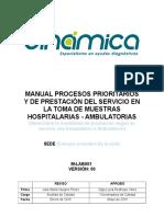 M-lab001 Manual Procesos Prioritarios y de Prestacion Del Servicio en La Toma de Muestras v000