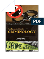Criminology Notes (Mohsin Raza)