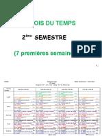 Emplois 2°Sem.(1-7et 7-14)2013-2014 vf du 19-02-2014