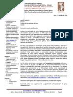 Carta al Colegio Profesional de Antropologos de Lima