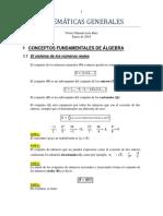 Matemáticas Generales 2016