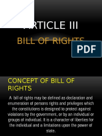Soc-sci Report( Bill of Rights)