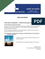Europa N0va Festival 2015 - Program