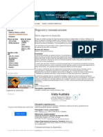 Negocios y Comunicaciones en Australia