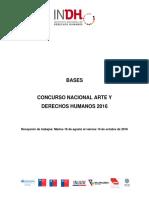 Bases Concurso Arte y DDHH 2016 Ok