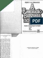 Florestan Fernandes revolução burguesa no brasil - florestan fernandes 2