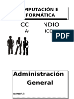 Modulo de Administracion General