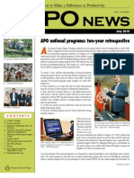 Asian Productivity Organization Monthly Newsletter July 2010