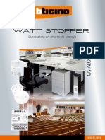Sensores Watt Stopper