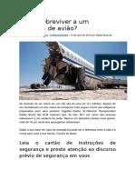 Como sobreviver a um acidente de avião.docx