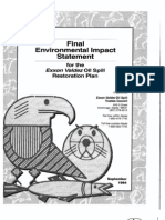 1994 Exxon Valdez Oil Spill Restoration Plan Environmental Impact Statement