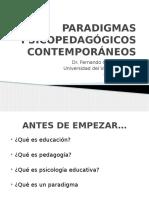 PARADIGMAS PSICOPEDAGÓGICOS CONTEMPORÁNEOS
