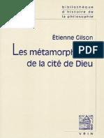 Étienne Gilson, Les Métamorphoses de La Cité de Dieu