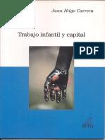 Iñigo Carrera_Trabajo Infantil y Capital