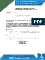 Unidad 2 Clases de Sistemas de Gestion