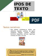 Texto Narrativo y Descriptivo