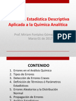 P3 Unidad 2 Estadistica Descriptiva Aplicada a La Qca Analitica