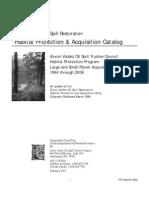 Exxon Valdez Oil Spill Gulf of Alaska Habitat Protection & Acquisition Catalog 1994-2006