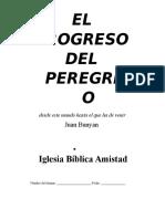 Cuadernillo del estudiante - El Progreso Del Peregrino-John Bunyan