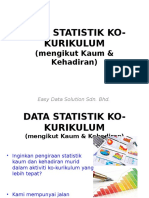 Data Statistik Ko-kurikulum (Easy Data Solution)