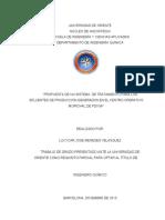 PROPUESTA DE UN SISTEMA DE TRATAMIENTO PARA LOS EFLUENTES DE PRODUCCIÓN GENERADOS EN EL CENTRO OPERATIVO MORICHAL DE PDVSA