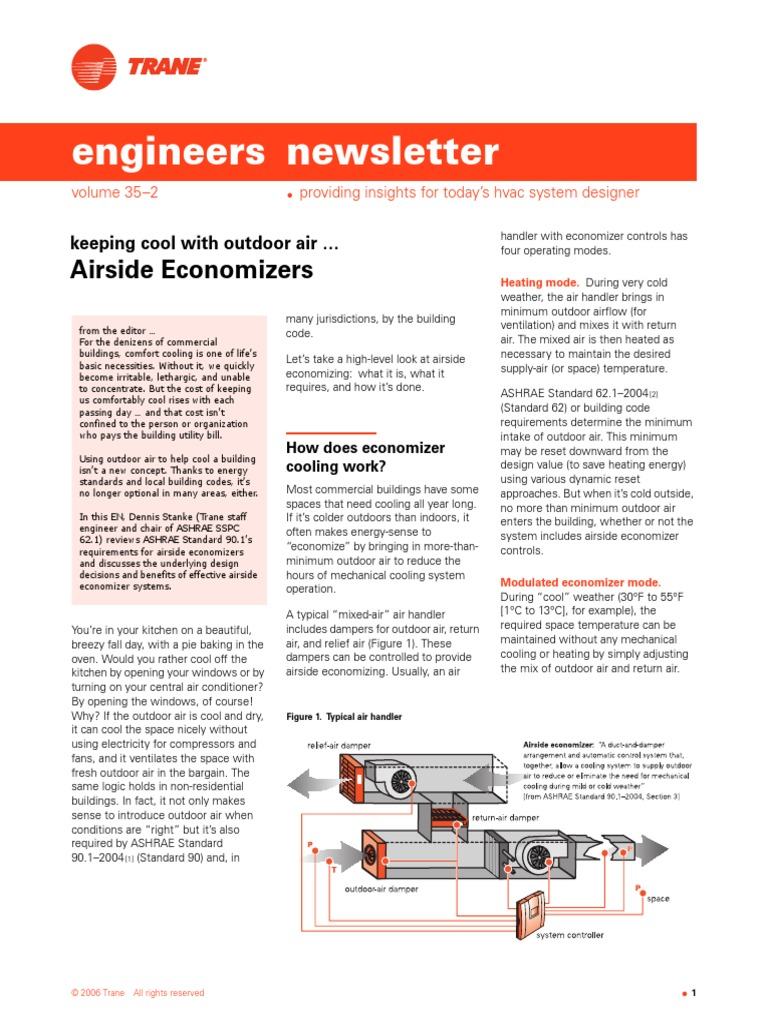 Keeping Cool With Outdoor Air_Airside Economizers | Hvac