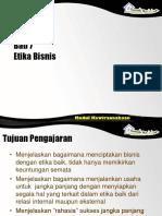 Bab 7 Etika Bisnis
