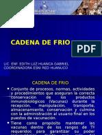 1.- Cadena de Frio