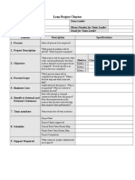 Lean Six Sigma Project Charter Template.doc