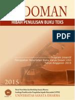 Pedoman Hibah Penulisan Buku Teks Universitas Sanata Dharma 2015
