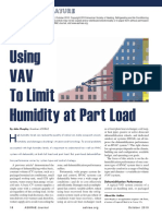Using VAV Systems to Limit Humidity at Part Load