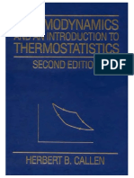 180328427 Callen Herbert B Thermodynamics and an Introduction to Thermostatistics 2nd Edition PDF