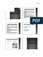 Job Evaluation Methods - AG2