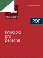 5.- Principio Pro Persona.