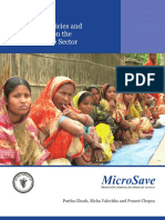 Impact of Policies and Regulations on the Micro Finance Sector