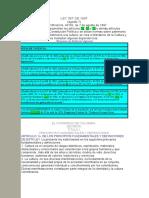 Ley 397 de 1997 Ajustada de Acuerdo Con Las modificacioens de La Ley 1185 de 2008 16-06-08