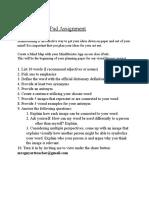 mindmeister ipad assignment