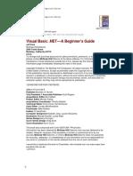 McGraw-Hill - Visual Basic DotNet - A Beginner's Guide