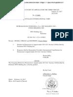 Crystallex v PDVSA - CtApp - Interlocutory Appeal With Reasons - Jan 2017