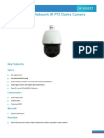UNV IPC6242SL-X33 2MP VF Laser Network IR PTZ Dome Camera Datasheet V2.0