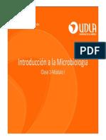 Clase 1. Introducción a La Microbiología