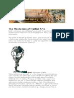 Mechanics of Martial Arts