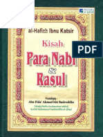 Kisah Para Nabi Dan Rasul karya Ibnu Katsir rahimahullah