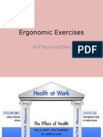 Ergonomic Exercises